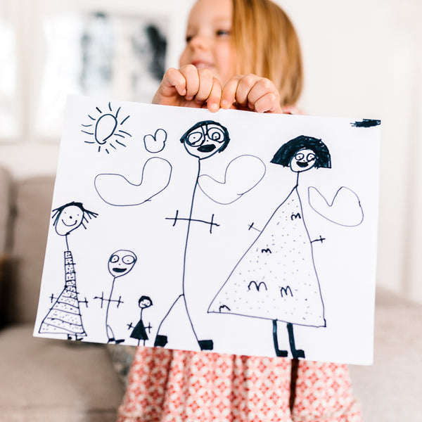 Childrens drawing gift