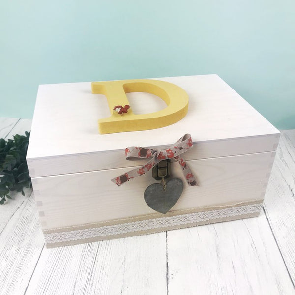 woodland keepsake box
