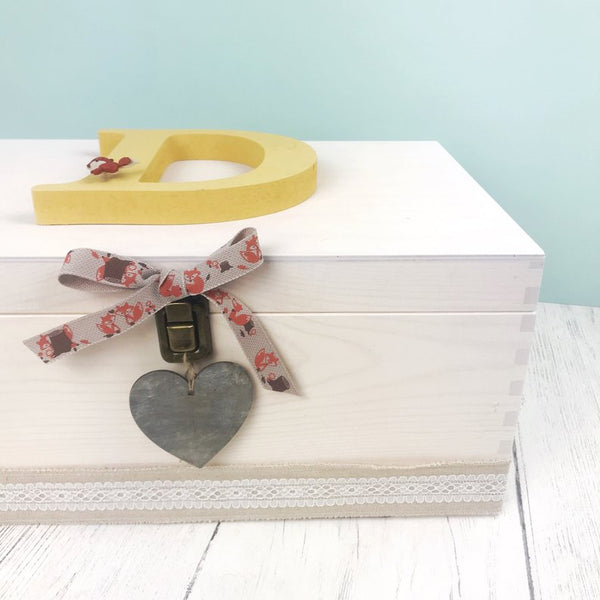 Woodland Fox Keepsake Box