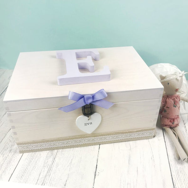 purple keepsake box