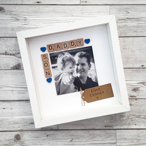 Daddy & Son Personalised Photo Frame