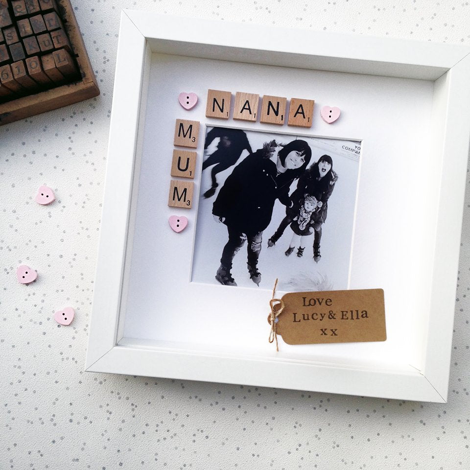 Mum & Nana Photo Frame