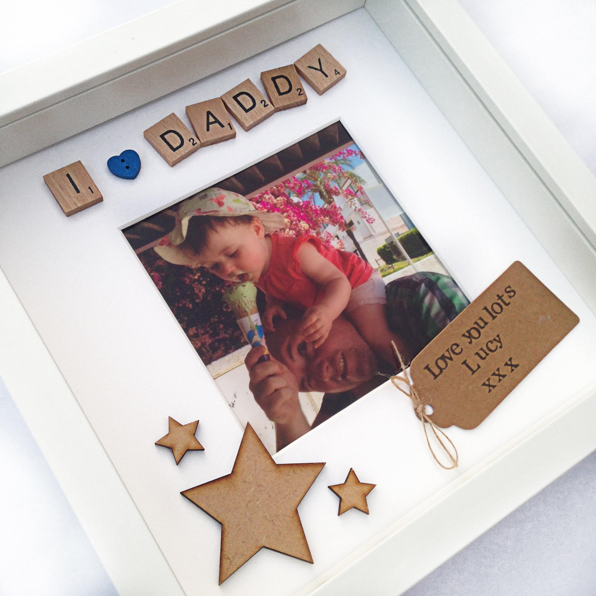 I Love Daddy Photo Frame Little Things By Lucy