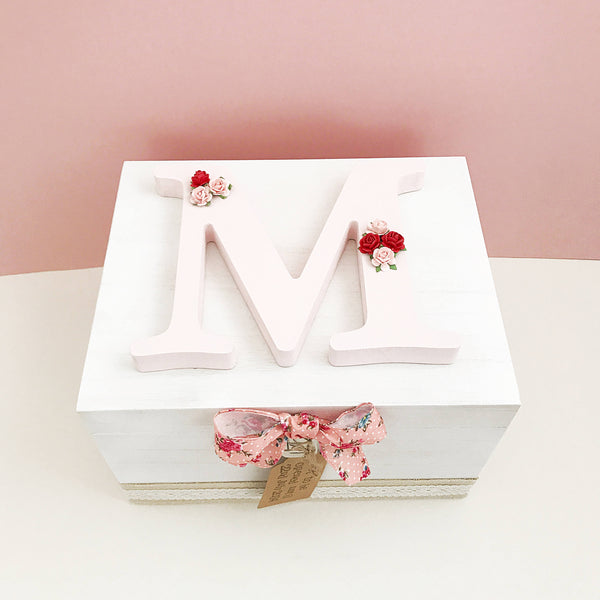 Wooden Memory Box For Girls
