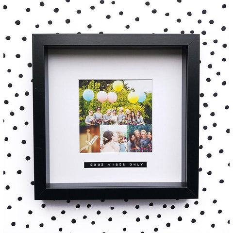 Good Vibes Only Photo Frame