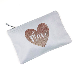 Mum Make Up Bag in Grey
