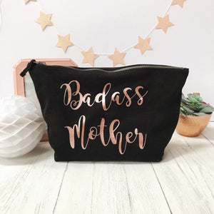 badass mother make up bag