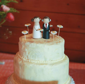 Festival Wedding Cake Topper