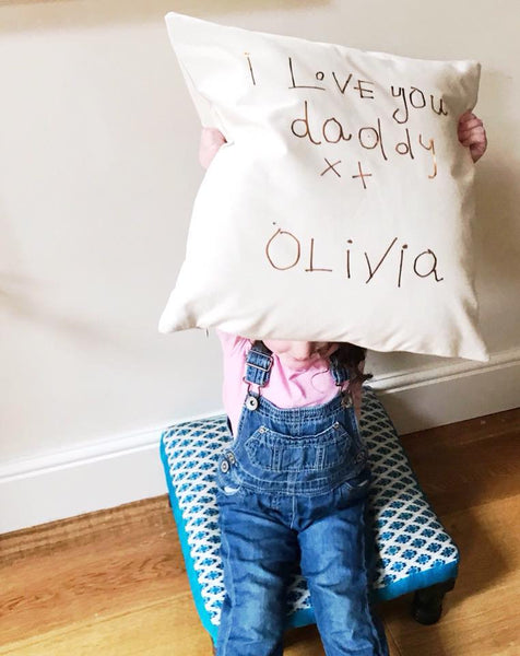 Childrens Drawing Cushion