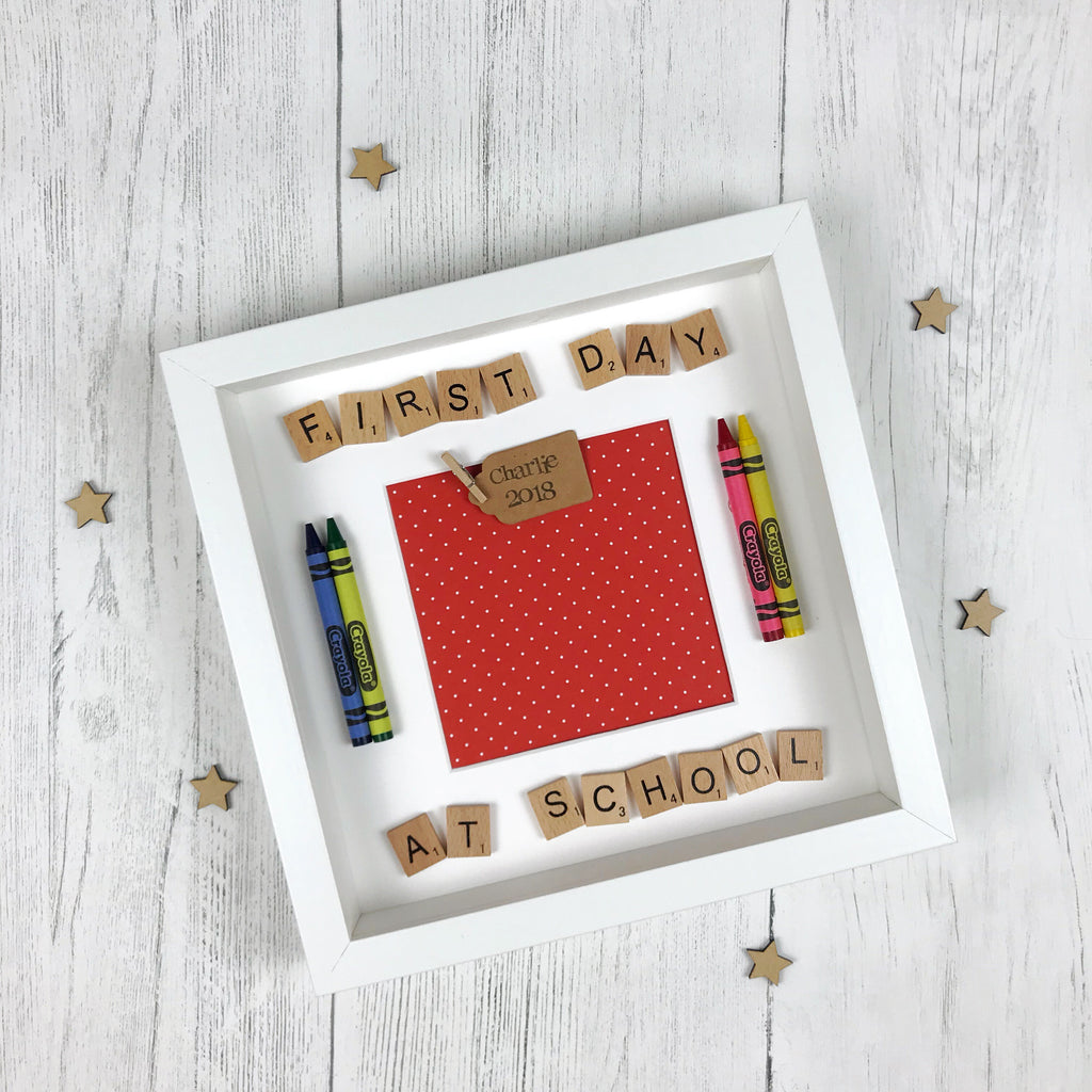 First Day at School Frame – Little Things by Lucy