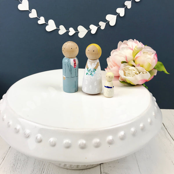 Wedding Cake Topper Family