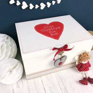 Personalised Christmas Eve Box with Lid