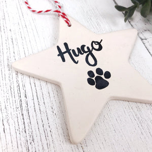 Pet Ceramic Star