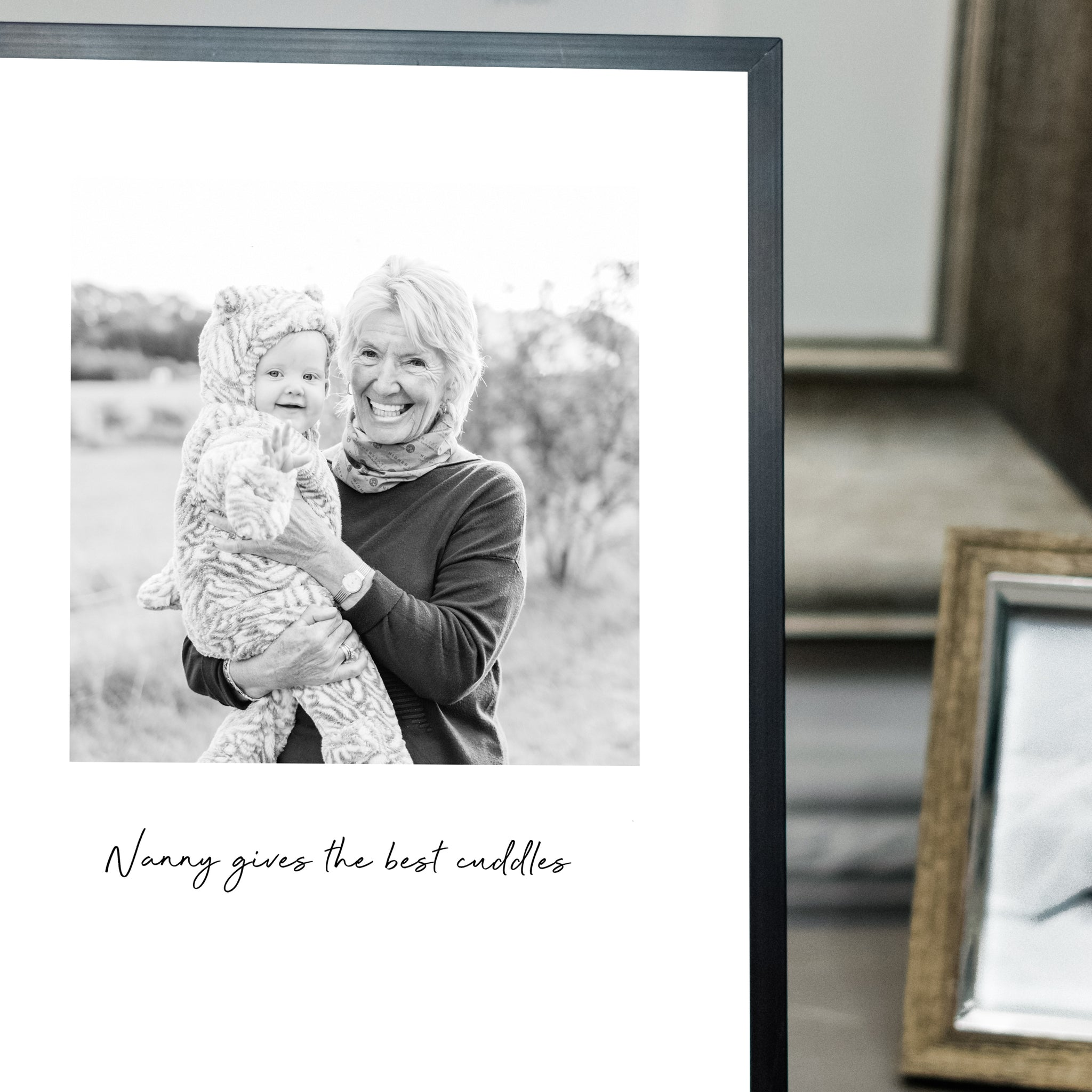Nanny Gives The Best Cuddles Photo Print