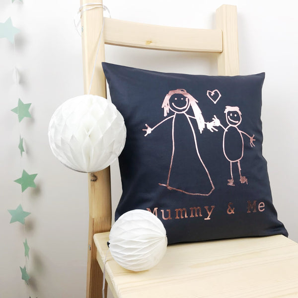 mummy and me cushion