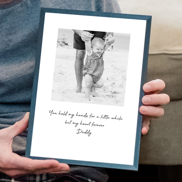 Personalised Daddy Photo Print