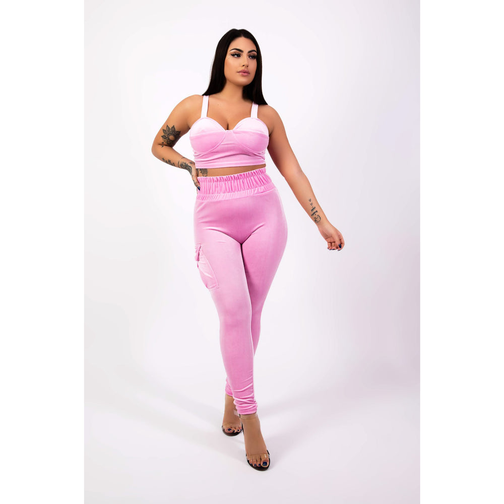 Pearl Two Piece Set in Pink