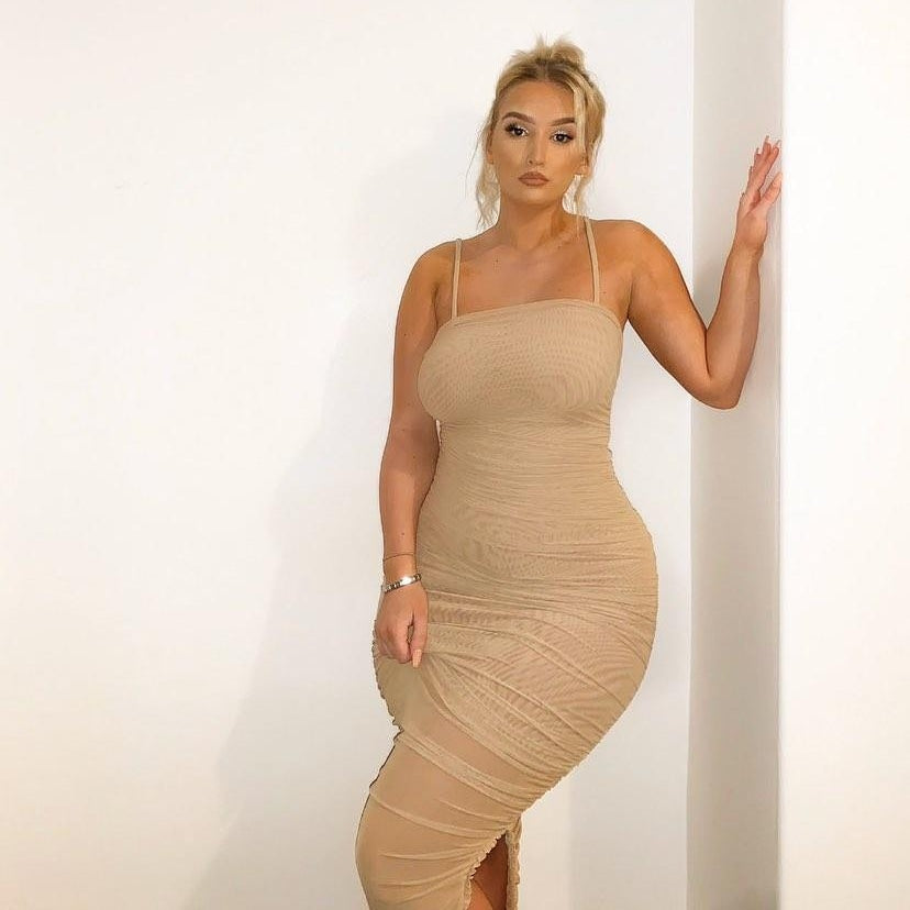 Bonnie Bodycon maxi Dress