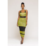 Honey Bee Bodycon Maxi Dress
