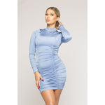 Scarlette Long sleeve Mini Dress