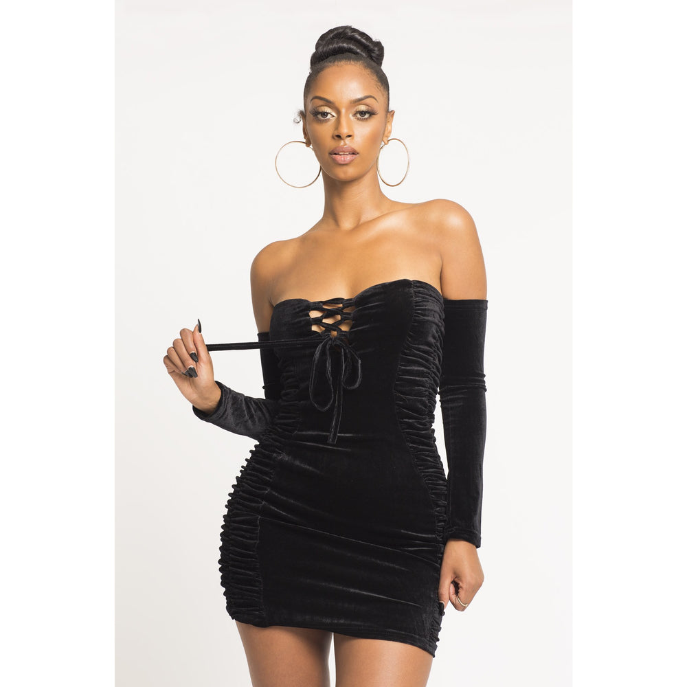 Heart Breaker off Shoulder Dress