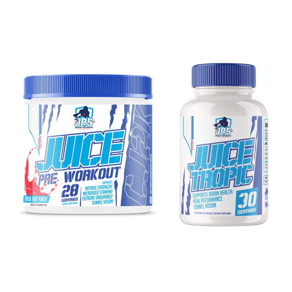 Juice  Bundle (1 Bottle of Pre Workout & 1 Bottle of Juice Tropic)