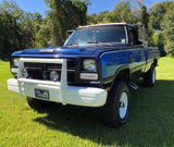 1st Gen Dodge Bumper Push Bar (No Plastic Molding)