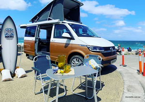 Living the dream: campervans the latest craze