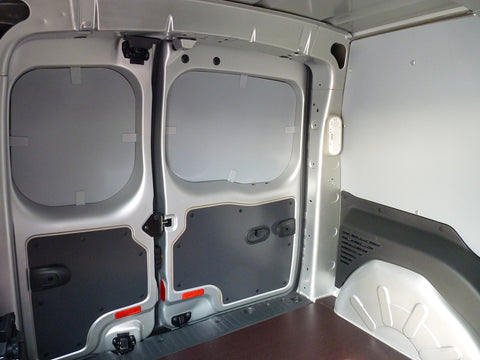 Fitted interior of a van