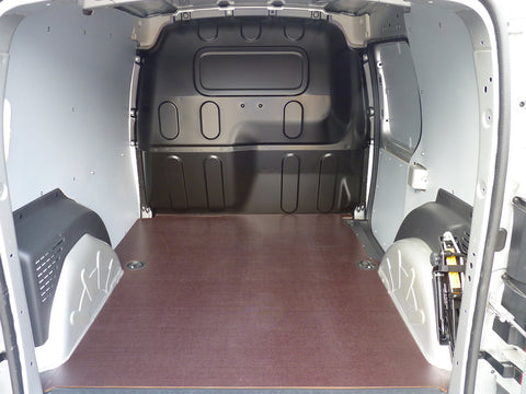Interior of a fitted van