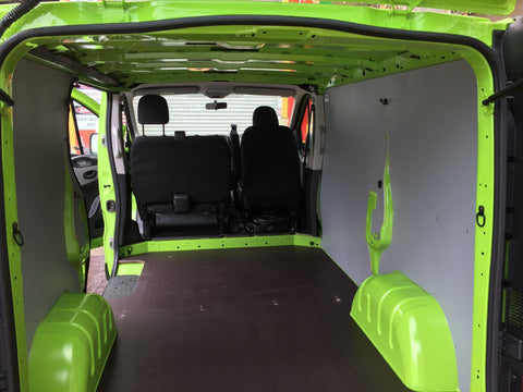 Trafic Long Wheel Base Van Wall Panels
