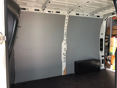Master Short Wheel Base Dual Door Van Wall Panels