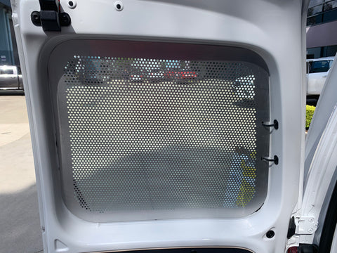 Volkswagen Caddy window guards