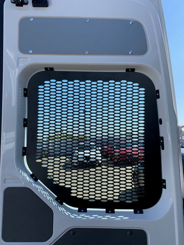 Volkswagen Crafter rear window Guard