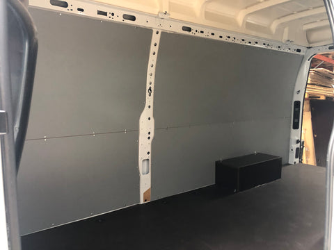 Mercedes Benz Sprinter Dual wheel arch boxes