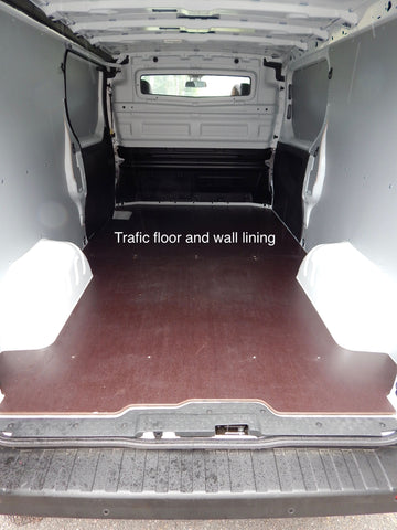 Trafic Short Wheel Base Dual Door Van Floor