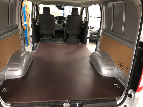 Toyota Hi Ace 2019 LWB Wood floor