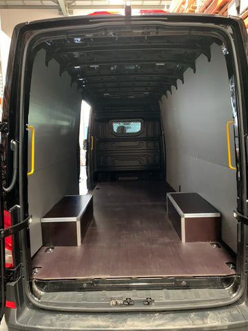 Volkswagen Crafter (All) - RWD Wheel arches