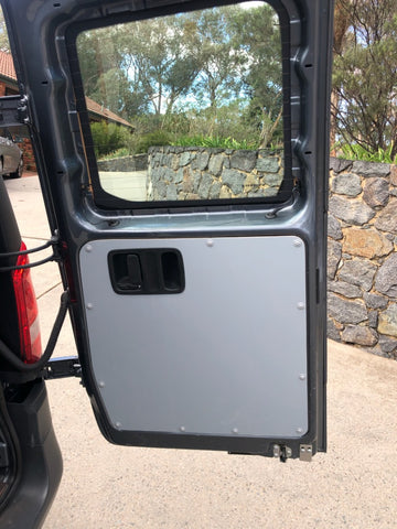 Mercedes Benz vito 447 rear barn door panels