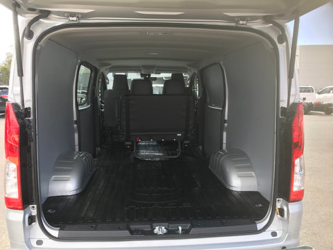 Toyota Hi-Ace 2019 (Long wheel base) wall panel kit
