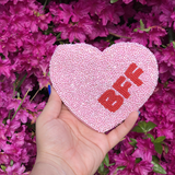 BFF CANDY HEART COIN PURSE