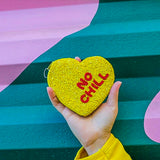 NO CHILL CANDY HEART COIN PURSE