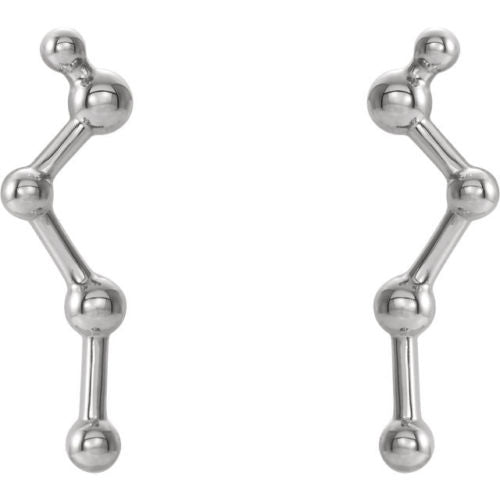 Sterling Silver Constellation Ear Climbers