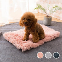 Load image into Gallery viewer, Winter Dog Bed Mat Soft Fleece Pet Cushion House Warm Puppy Cat Sleeping Bed Blanket For Small Large Dogs Cats Kennel