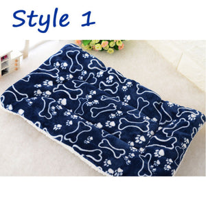 Large Soft Warm Dog Cat Pet Mat Bed Pad Self Heating Rug Thermal Washable Mats Dog Cat House