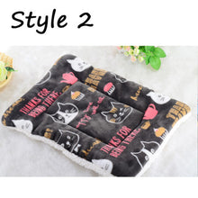 Load image into Gallery viewer, Large Soft Warm Dog Cat Pet Mat Bed Pad Self Heating Rug Thermal Washable Mats Dog Cat House