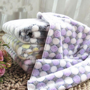 Soft Flannel Pet Dog Blanket - puppyzone.co