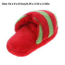 Load image into Gallery viewer, Pet Dog Squeak Plush Toys Slipper Shaped Sound Chew Play Toy for Pet Cats Puppy Teeth Cleaning Funny Squeaker Toy Dog Products