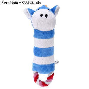 Pet Dog Squeak Plush Toys Slipper Shaped Sound Chew Play Toy for Pet Cats Puppy Teeth Cleaning Funny Squeaker Toy Dog Products