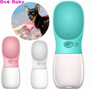 Portable Pet Dog Water Bottle Travel - puppyzone.co